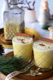 Tschüss Glühwein. Hello, Eggnog! DAS Traditionsgetränk zu Weihnachten in USA und UK. For a very yummy christmas time ...
