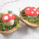 Silvester-Goodies aus Fimo: Glückspilze