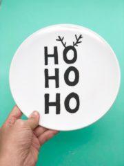 Teller weihnachtlich bemalen - süße Idee für DIY Geschenke
