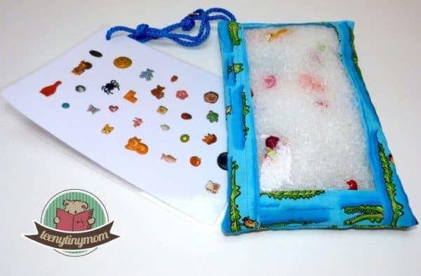 Geschenk in letzter Minute - Suchspiel für Kleinkinder