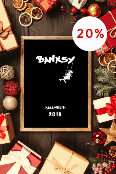 Banksy Streetart Kalender 2019