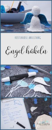 Kostenlose Anleitung: Engel häkeln