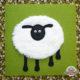 Dickes Schaf mit Kulleraugen - Fühlbuch