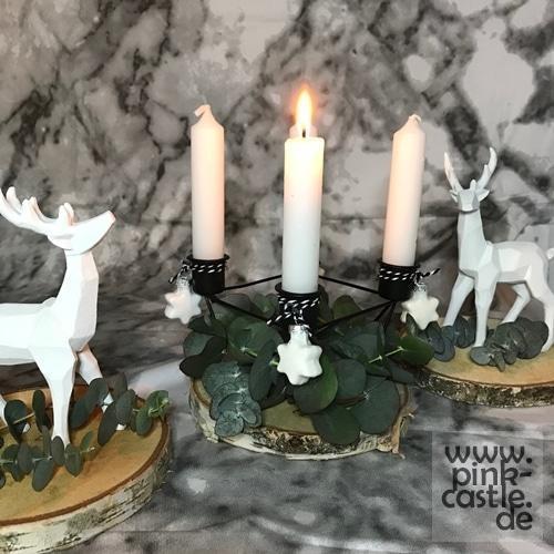 Skandi Adventskranz für dieses Jahr