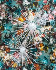 Sterne basteln - mit Schaschlikspießen