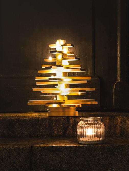 Weihnachtsbaum aus Holz basteln