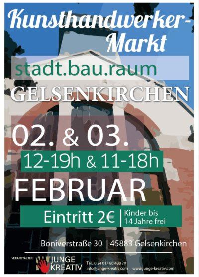 5.Kunst-, Kunsthandwerker und LifeStyle-Markt im stadt.bau.raum Gelsenkirchen