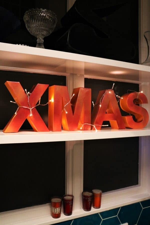 Schnelle Weihnachtsdeko: DIY XMAS Symbol