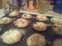 Müsliriegel- Muffins