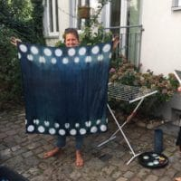 Indigo Shibori Workshop 26.01.2019