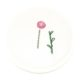 Einfache Blume mit der Hand sticken als Deko für verschiedene Nähprojekte