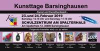 Kunsttage Barsinghausen 2019 – Der Kunsthandwerkermarkt