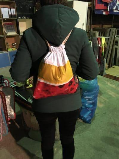 Erste Schritte an der Nähmaschine: Turnbeutel und Taschen