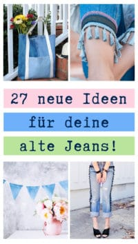27 Upcycling Ideen für Jeans!
