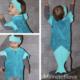 Kinderkostüm Meerjungfrau / Wassermann nähen + Schnittmuster