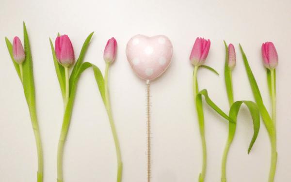DIY vom Valentinsherz | nadelfein und kringelbunt