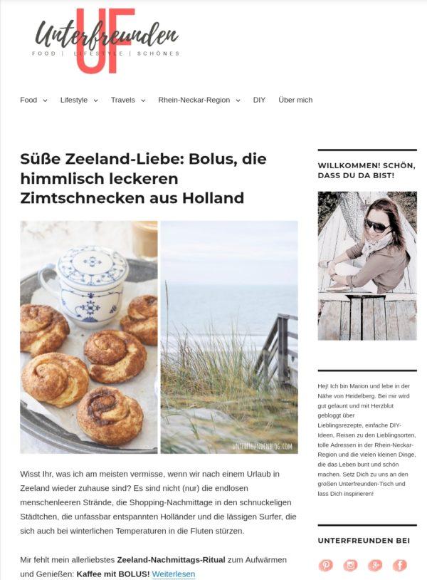 Unterfreundenblog – Food |  Lifestyle | Schönes
