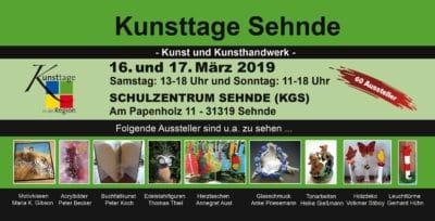 Kunsttage Sehnde 2019 – Frühlings- und Ostermarkt