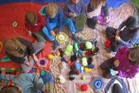 Handarbeitskurs für Kinder