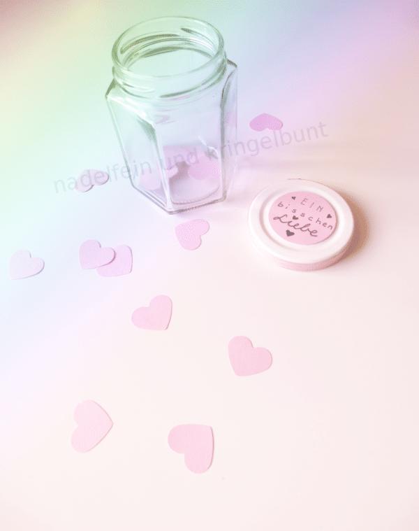 Easy DIY |  Liebe im Glas