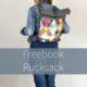 Rucksack nach neuem Freebok