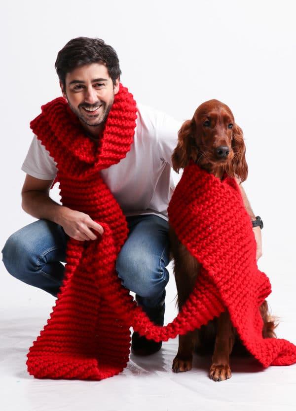 """""""We found love"""" Schal von We Are Knitters"""