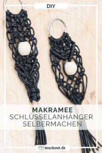 DIY-Geschenkidee: Makramee-Schlüsselanhänger selbermachen