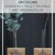 Upcycling-Idee: Vase aus Palettenholz mit Reagenzglas selbermachen