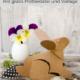 DIY Origami Osterhasen mit gratis Plotterdatei und Vorlage