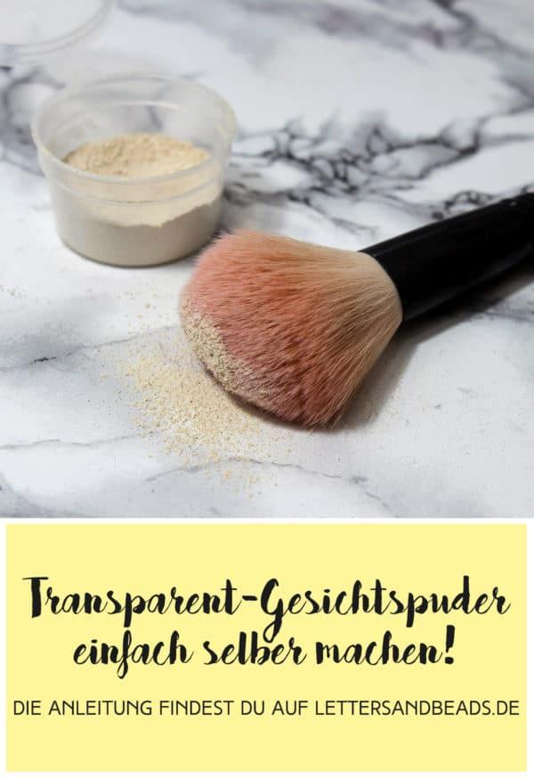 Make-Up: Gesichtspuder selber machen