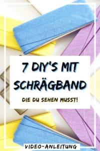 7 DIY Ideen für Schrägband!