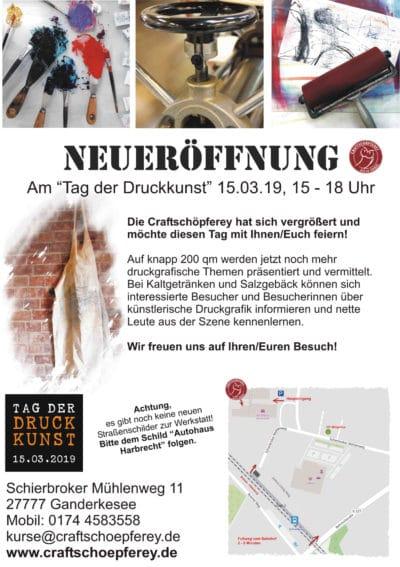 Tag der Druckkunst Bremen/Oldenburg