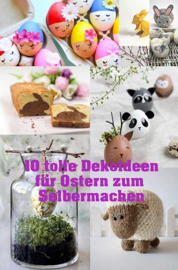 Die besten Ideen für Osterdeko / Ostereier