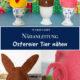 Tierische Eierwärmer für Ostern nähen
