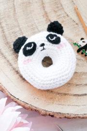 Pandabär Donut häkeln