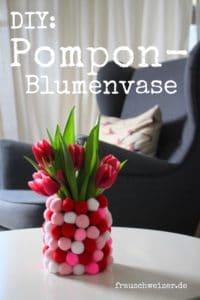 DIY für einen Pompom Blumentopf