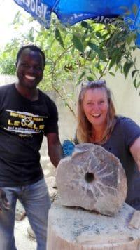 Into Africa - Steinbildhauer Workshops im Atelier Farnsworth! Alles ist möglich!