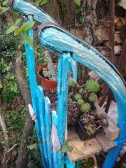 Schlitten - Pflanzenregal Meeresrauschen
