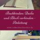 Buchbinden: buchblock und Decke verbinden
