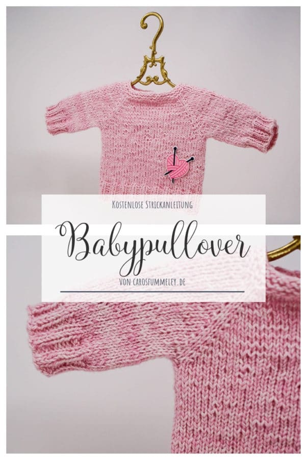 Babypulli stricken