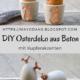 DIY Osterbecher und Ostereier aus Beton mit Kupferakzenten