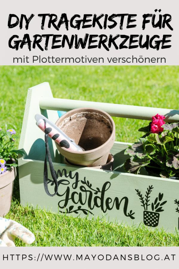 DIY Tragekiste für Gartenwerkzeuge