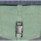 Upcycling Nähidee : Umhängetasche für Männer aus alten Jeans genäht
