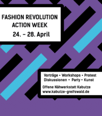 Fashion Revolution Week Greifswald