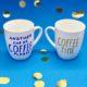 Kaffee Tassen selbst bemalen - 5 einfache Tipps