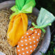 Stoffsäckchen Karotte (Kostenlose Nähanleitung und Schnittmuster)