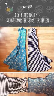 DIY Kleid nähen – Schnittmuster selbst erstellen