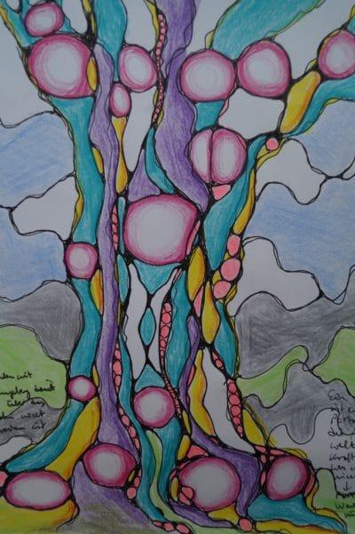 Neurobaum der Gesundheit - Zeichenkurs - Malkurs für Erwachsene