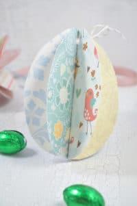 Ostereier aus Papier