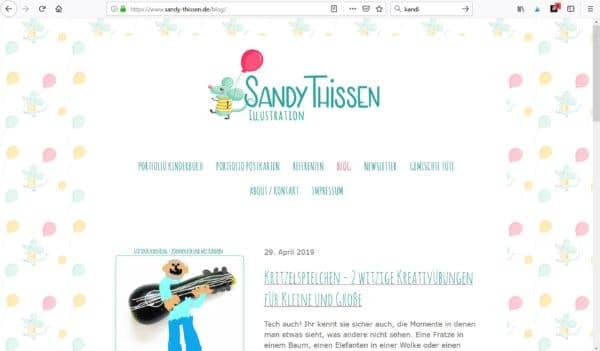 Stiftekästchen Blog - sandy-thissens Webseite!